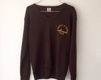Sweater size 2/3 sold door staff had french FOCH between 1971-1980