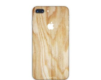 WOOD iPhone Skin WOOD iPhone Sticker Case wood texture iPhone Decal wood pattern iPhone 7  plus iPhone 6 iPhone 6s 6 plus 5 5s SE Ps082