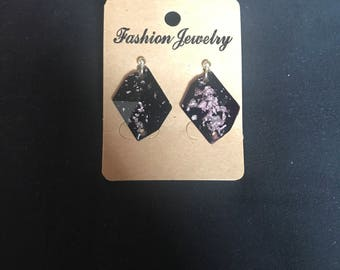 Rough Diamond Stud Earrings