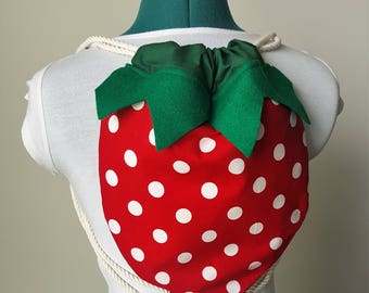 Cute Strawberry Backpack