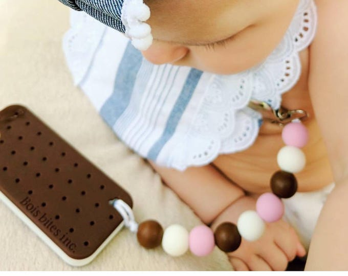 Featured listing image: Ice Cream Pacifier Clip