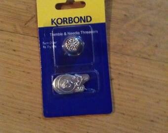 Koribond thimble & needle threader