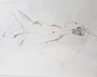 A1 Life Drawing