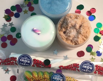 Carnival Slime Box / Thick Slime / Scented / gifts for kids / Cloud Slime /therapeutic / most popular / Clear Slime / Gifts for kids / Slim