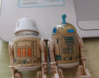 STAR WARS! 1978-Vintage R2D2 with Sensescope and R5D4