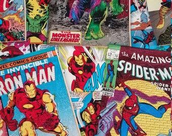 Marval comic book sleeve