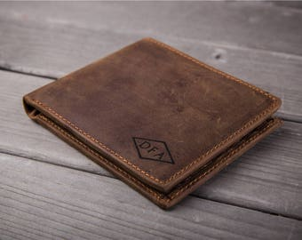 Leather Mens Wallet Personalized leather wallet handmade mens wallet bifold mens leather wallet bifold handmade wallet custom wallet