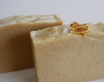 Unscented Oatmeal and Shea butter soap