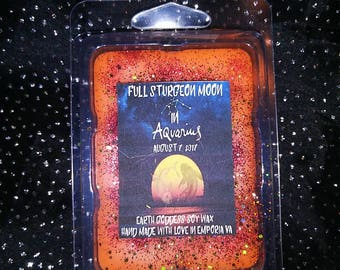 Full Sturgeon Moon Highly Scented Soy Wax Melt