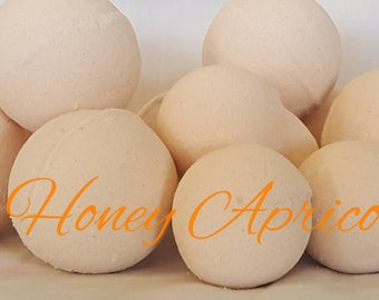 Honey Apricot Bath Bombs