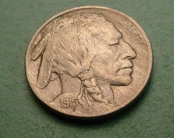 Buffalo Nickel 1915 AU PLUS Nice<>ET4055