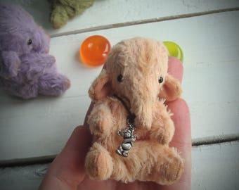 Miniature tiny elephant