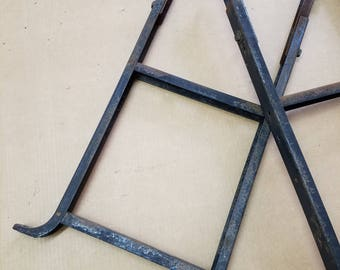Salvaged, Vintage, Industrial Metal Legs, SHIPPING INCLUDED