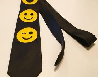 Smiey Faces Necktie