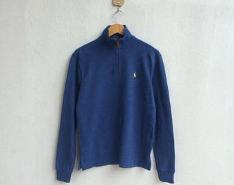 Vintage 90's Polo Ralph Lauren Sweatshirt Small Logo