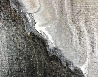 """Acrylic Fluid Painting """"Galaxias"""" 16""""x20"""""""