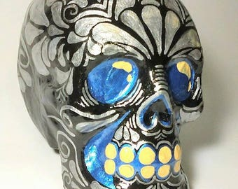 Traditional skull paper mache. Mexican tradition