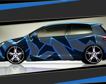 Camouflage Carsticker Tuning Decal Cartattoo Car