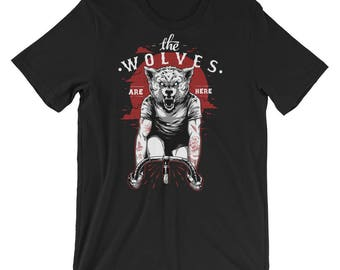 The Wolves Are Here Short-Sleeve Unisex T-Shirt