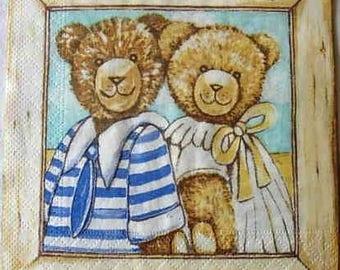 Family bear paper towel
