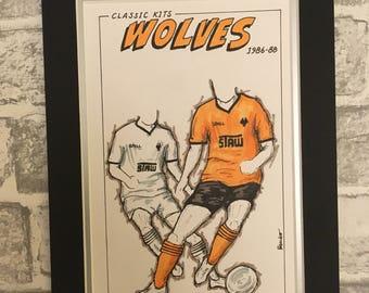 Wolverhampton Wanderers Kit History: 1986-1990