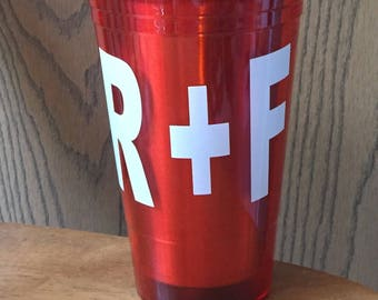 Rodan and Fields White decal (cup not included)