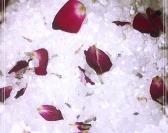 All Natural Bath Salts, Soaking Salts, Bath Salts, Essential Oil Salts