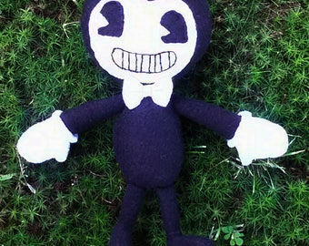 Bendy doll (unofficial Bendy and the Ink machine plush)