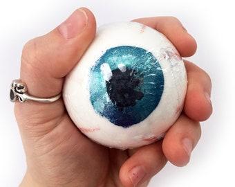 Spooky Bath Bomb, Eye Bath Bomb, Seeing Red