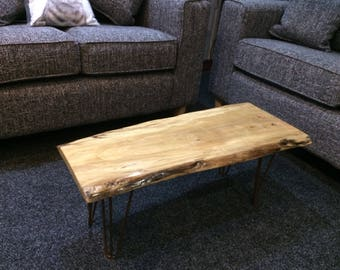 Coffee table - live edge