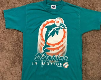 Vintage 1996 Miami Dolphins Shirt Size Large