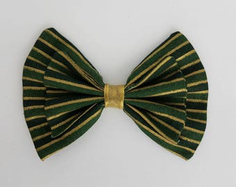 Striped Holiday Bow