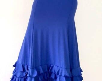 Flamenco skirt blue 5 flyers