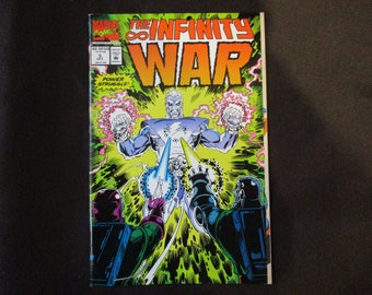 The Infinity War #5 (Thanos Appearance) Marvel Comics 1992