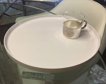 Heller Massimo Vignelli platter in white