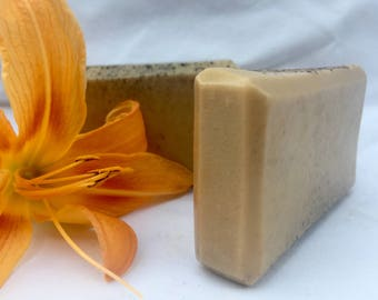 Sweet Citrus Handcrafted Vegan Soap