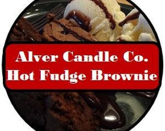 Handcrafted Soy Wax Melts (Hot Fudge Brownie) Alver Candle Company