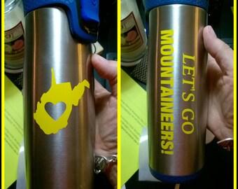 WVU Mountaineers Contigo Travel Coffee Mug