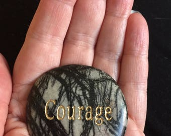 "Picasso ""Courage"" Worry Stone"