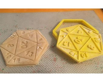 D20 Dungeons and Dragons Cookie Cutter