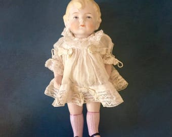 Antique Hertwig&Co. All Bisque Doll