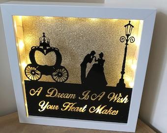 Cinderella light up frame
