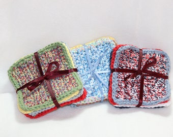 Coasters- Crochet - 4 Pack
