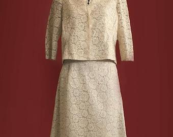 Sartorial 1950's vintage jacket and skirt