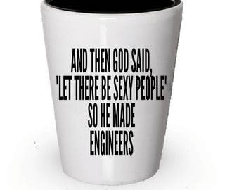 Engineers Shot Glass, I'm a Engineers, Engineering shot glass, Shot glass engineering, Engineer gifts, Engineering Gift