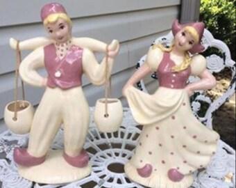 Vintage Hedi Schoop Hollywood Dutch Figurines
