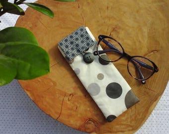 coated fabric glasses case