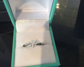 1.70 Carat F/SI1 GIA Certified Diamond Solitaire Engagement Ring