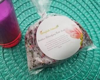 Goddess Detoxifying Bath Soak- 12oz. Bath salts, Lavenders and Peppermint