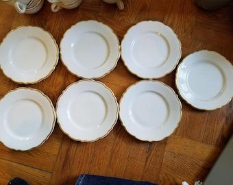 1960s Syracuse China Dessert Plates